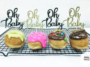 'Oh Baby' DONUT TOPPER