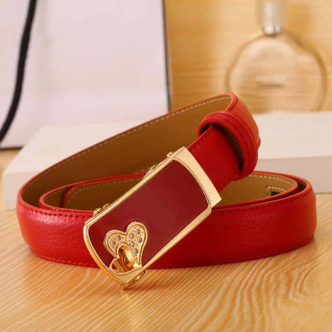 Women's Belt - Twin Hearts - Dexterity Brand