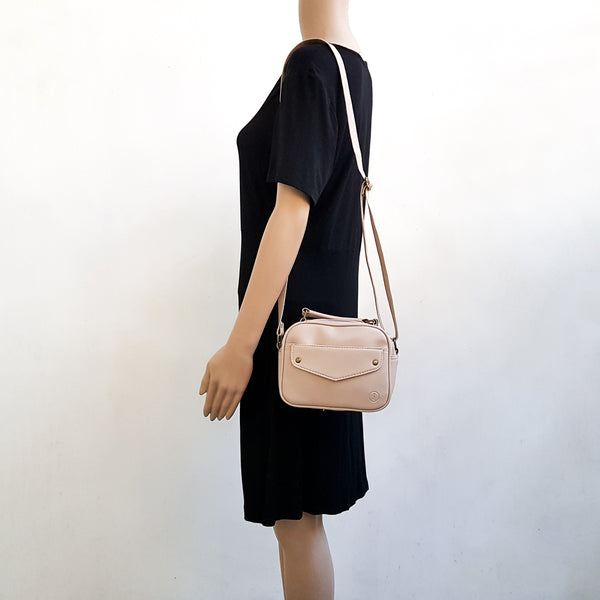 Mini Sling Bag - Cream