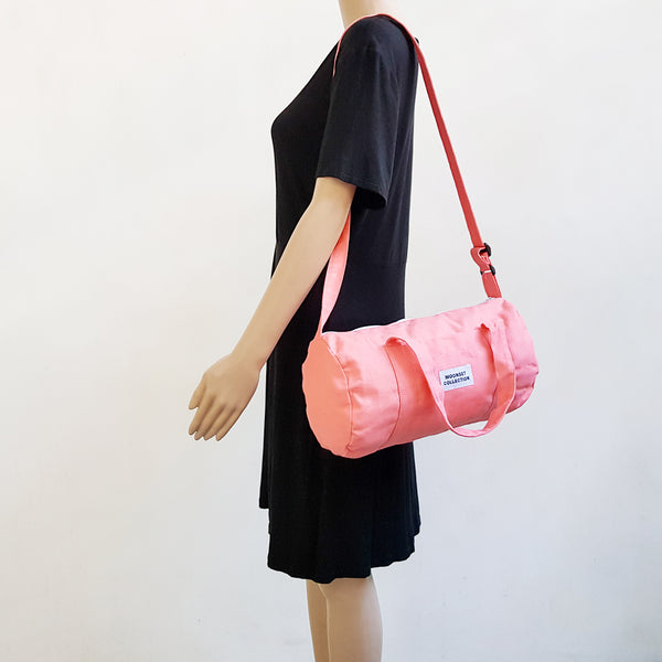 Canvas Mini Duffel - Pink