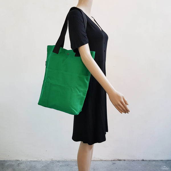 Canvas Tote 004 - Green