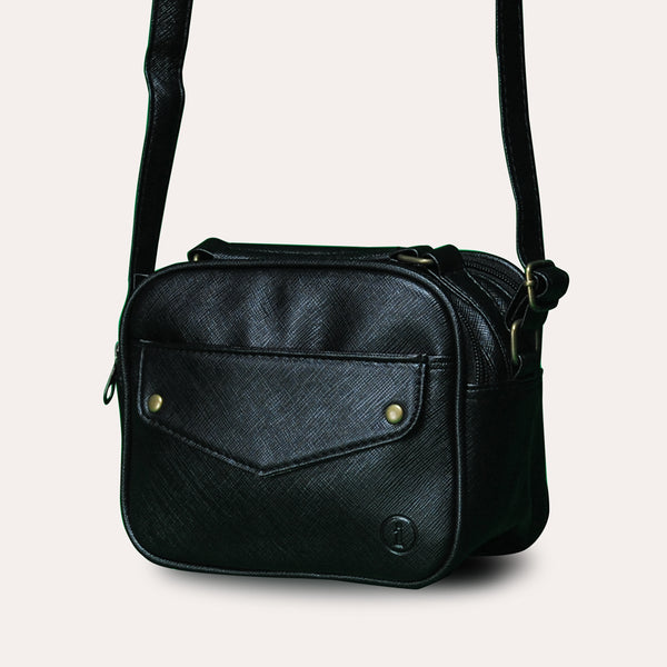 Mini Sling Bag - Black