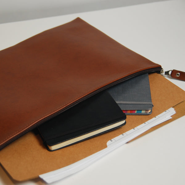 Basic Sleeve Folio - Tan