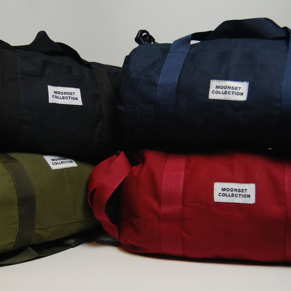 Canvas Mini Duffel - Red Wine