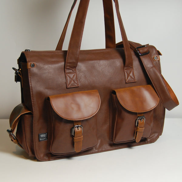 Messenger Bag 009 - Tan