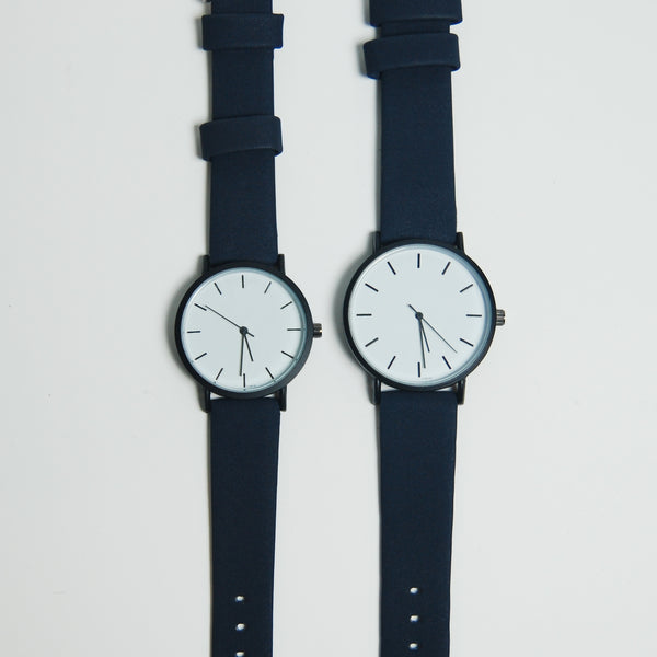 DUO#1 Navy x White