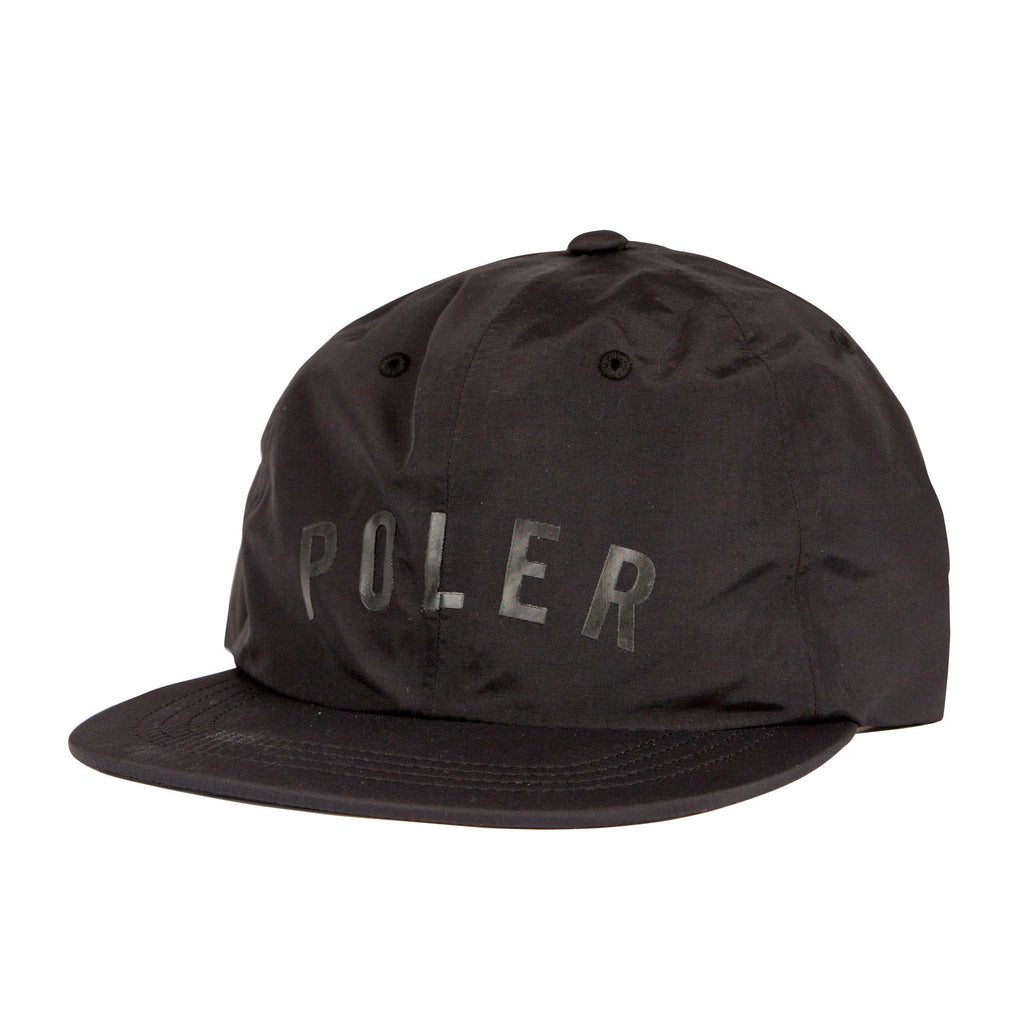 Poler Tapes Seams Nylon Floppy Hat - Black
