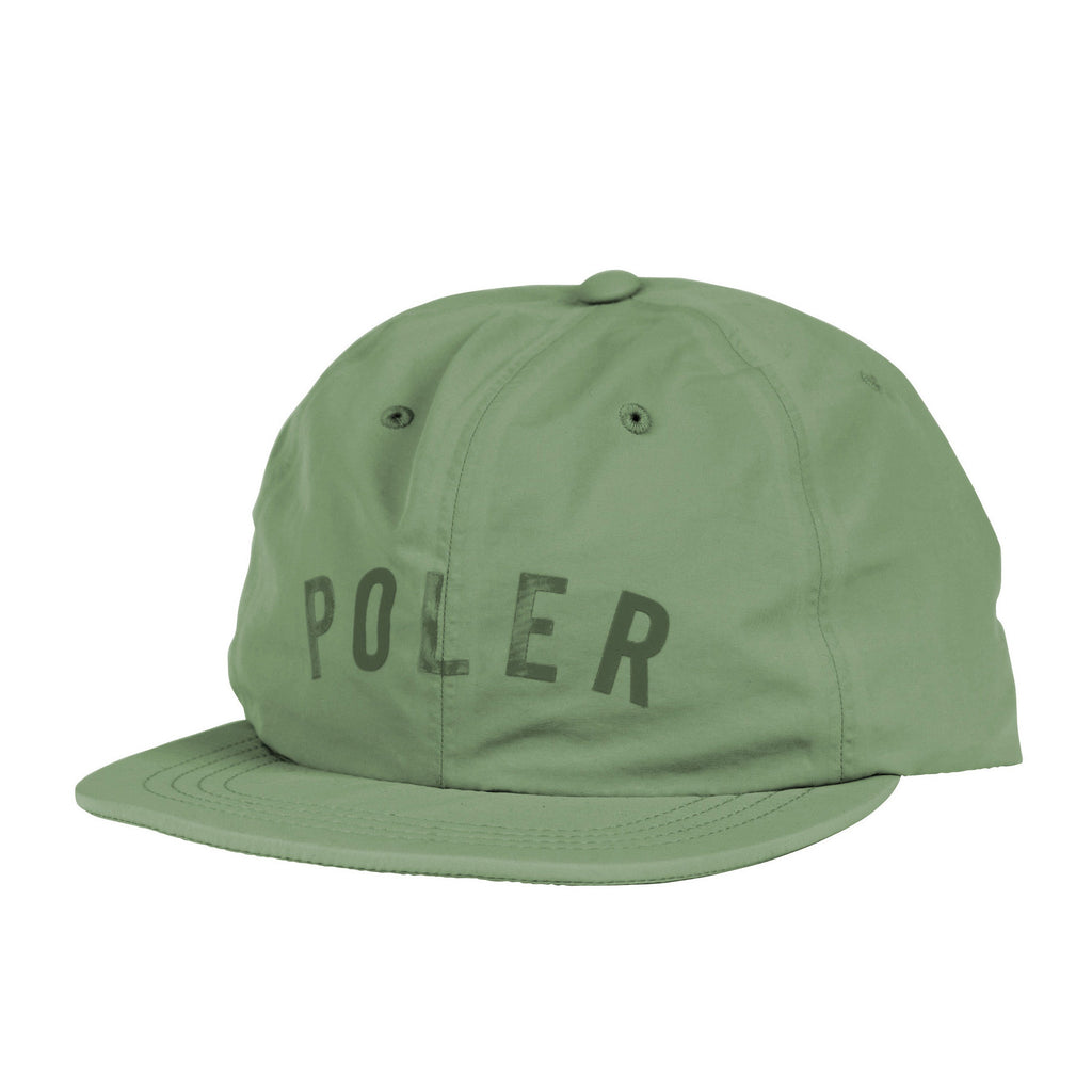 Poler Tapes Seams Nylon Floppy Hat - Olive