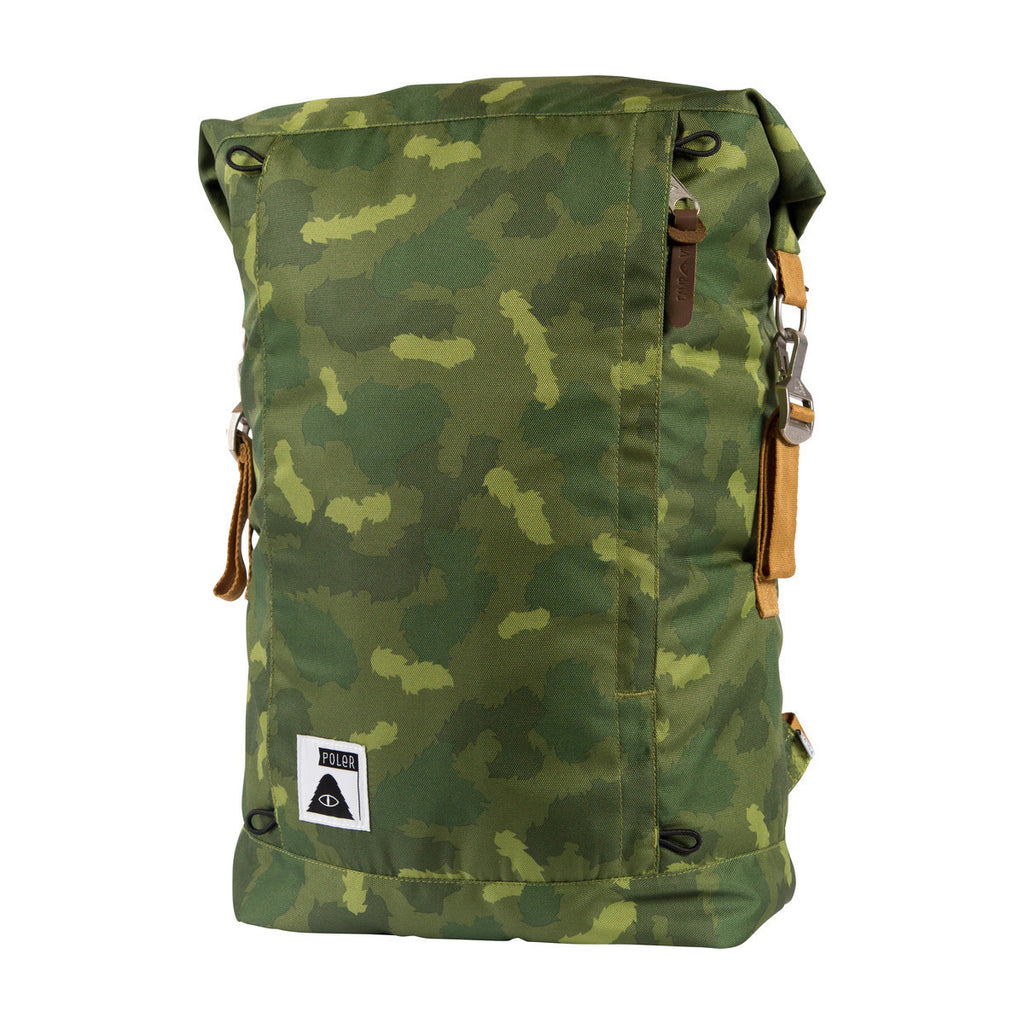 Poller Rolltop Backpack - Green Camo