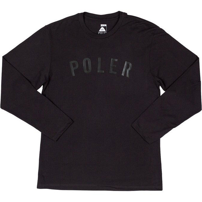 Poler Black/Black State Long Sleeve Tee