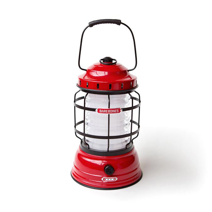 Barebones Living Forest Lantern Red