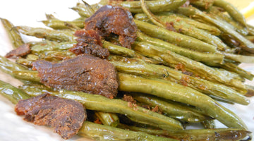 Roasted Green Beans With Bottarga