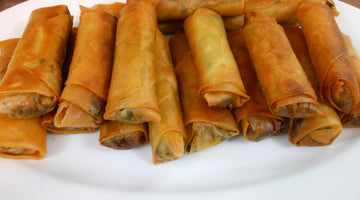 Spring Rolls with Bottarga Recipe