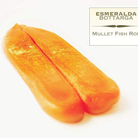 Bottarga Esmeralda {COLD SMOKED} - Caviar Of The Mediterranean - (Dried Mullet Roe) 4.2~5.3 oz Wild Caught from the Mediterranean Sea - Duke's Gourmet