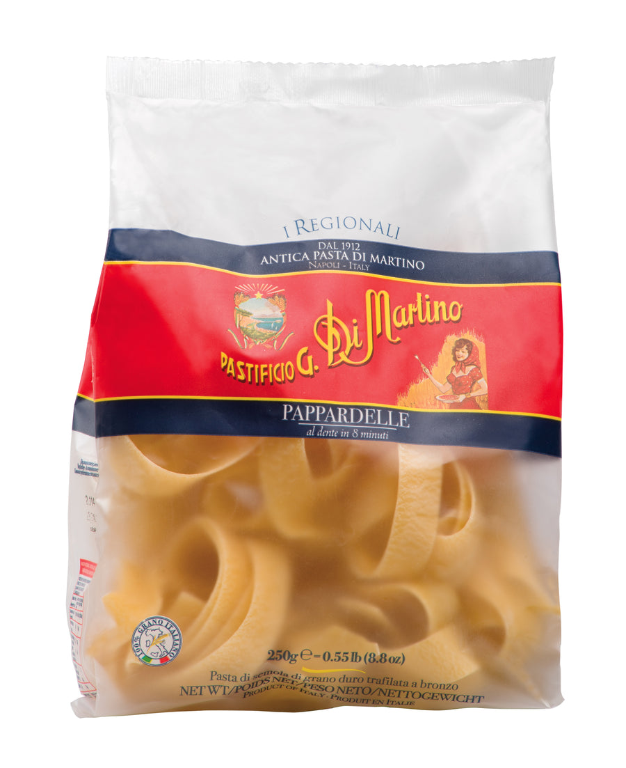 Di Martino - PAPPARDELLE  -  8.8 oz - Premium Pasta IMPORTED FROM ITALY