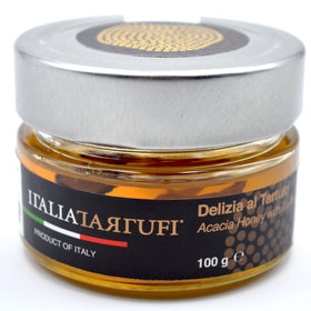 Italia Tartufi - Acacia Honey with Truffles 3.52 oz (100 gm) Product of Italy