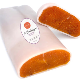 So'Boutargue Kosher Bottarga Made in France - Infused With Boukha fig liquor - Beeswax Coat 5.29 ~ 7 oz - Duke's Gourmet