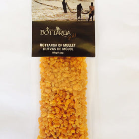 Bottarga Gold Powder (grated dried mullet roe) 1.76 oz / 50 gm kosher - Duke's Gourmet