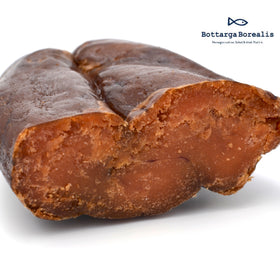 Bottarga Borealis NORWEGIAN COD ROE ± 3.5 oz From The Depths Of The Norwegian Arctic