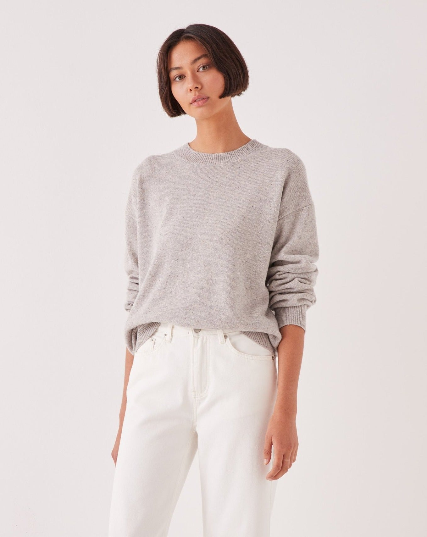 Assembly Label Iren Knit Grey Marle