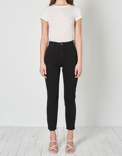 Dusters High Rise Slim Black