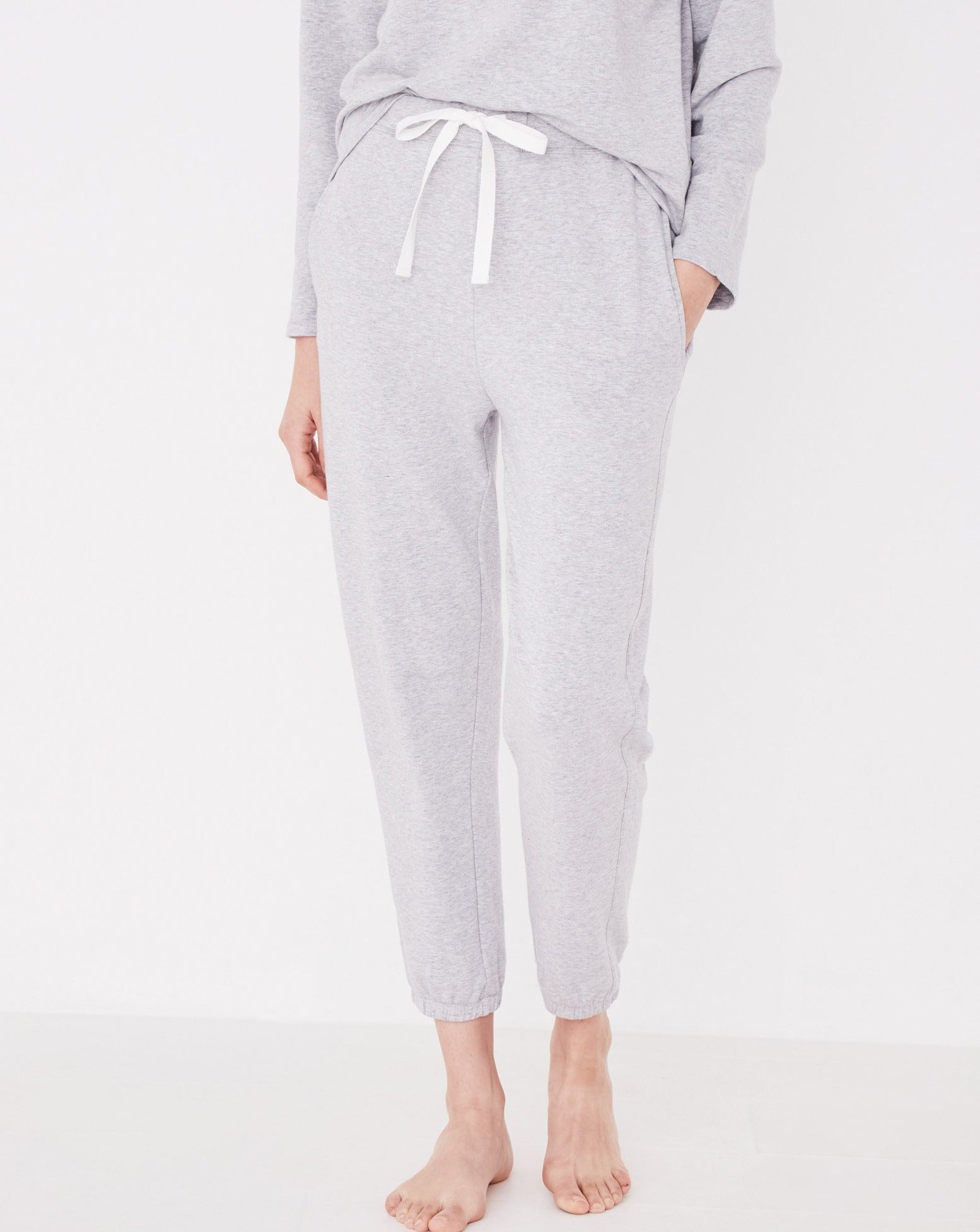 Assembly Kin Fleece Trackpant Grey marle