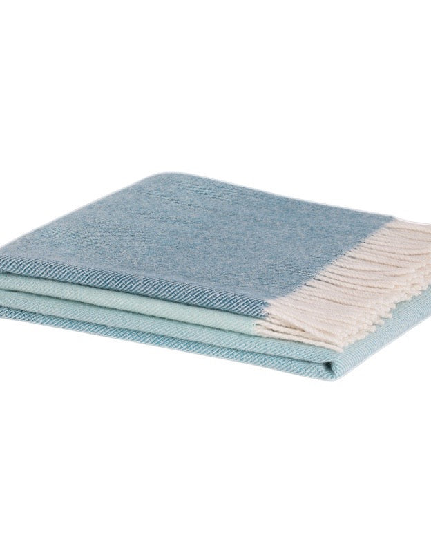 Piha Throw Azure