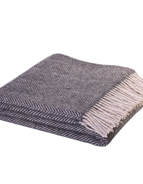 Lerwick Throw Charcoal