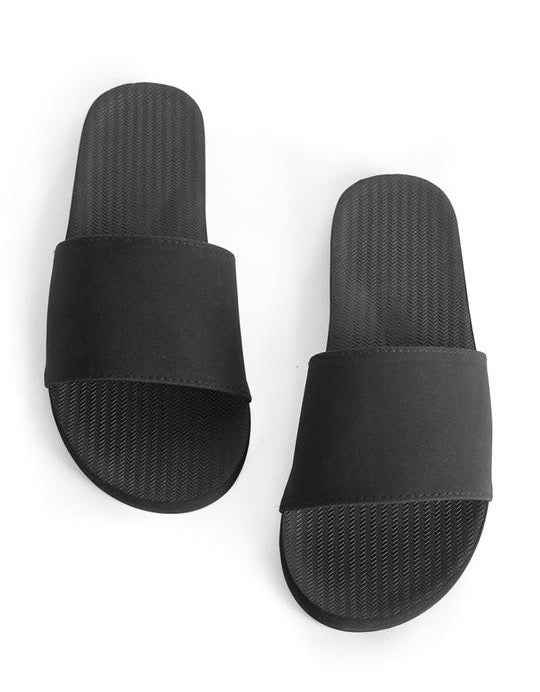 Indosole Essentials Slide Black