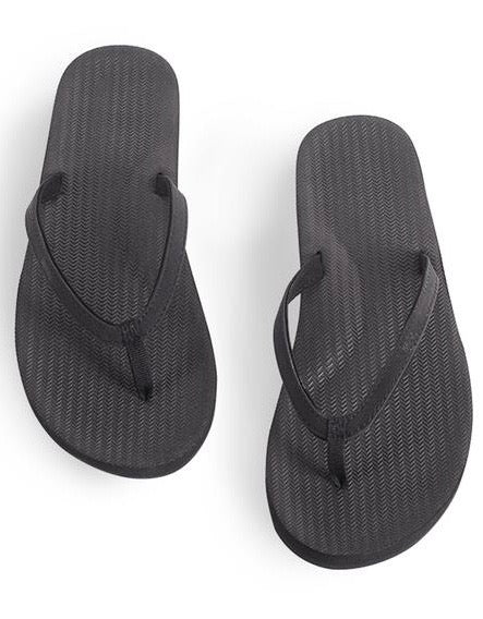 Jandal Black Womens