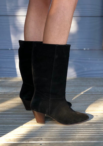 Simone Boot Black