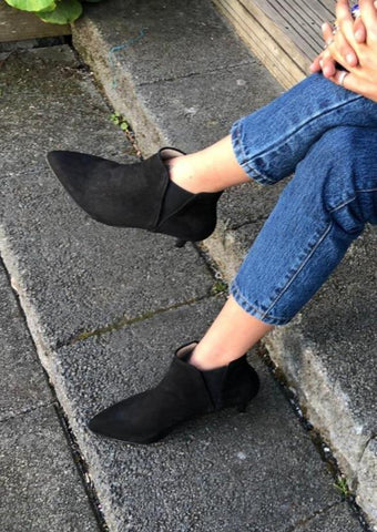 Aria Boot Black Suede