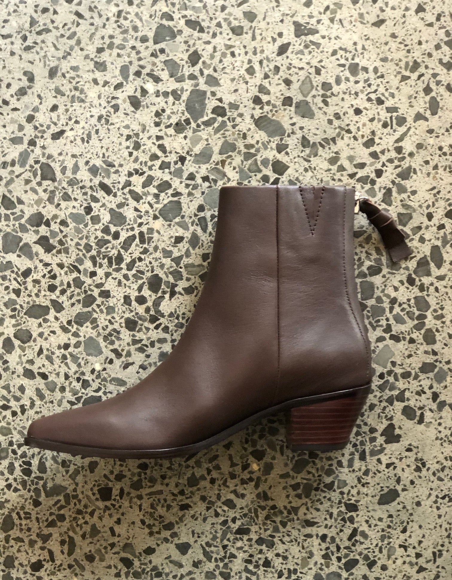 Woodie Boot Choc