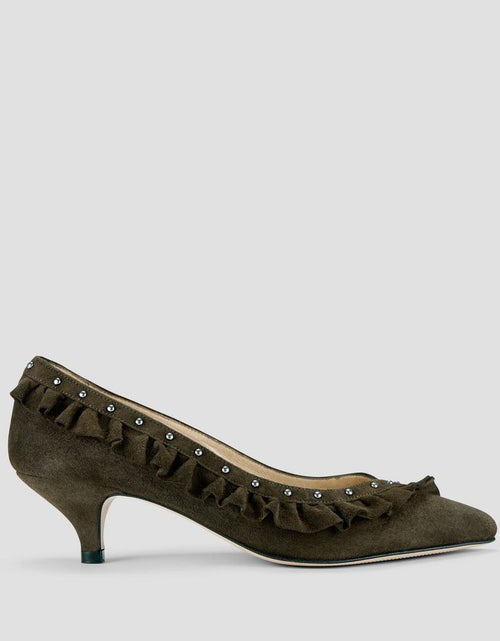 Lee Suede Pump Khaki