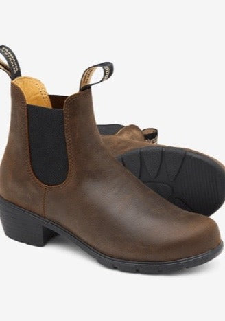 Blundstone 1673 Heel Antique Brown