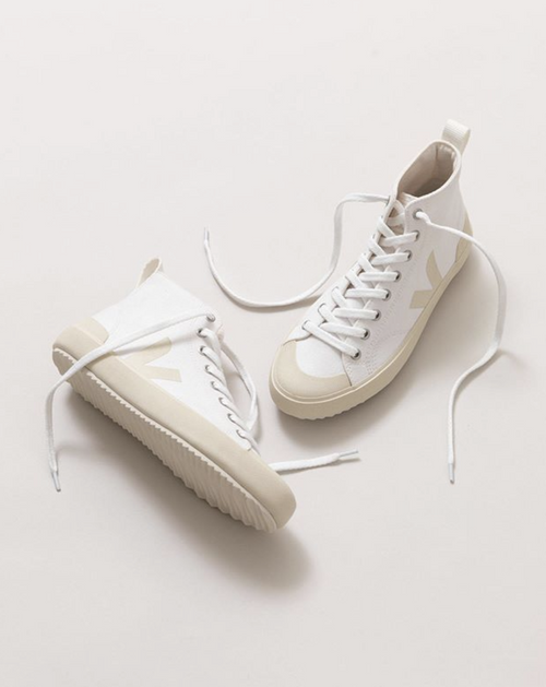 Nova High Top Canvas White Pierre