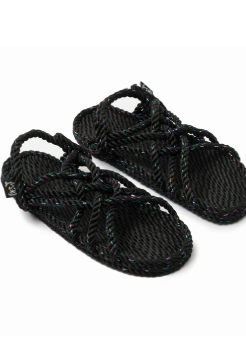 JC Sandal Disco Black