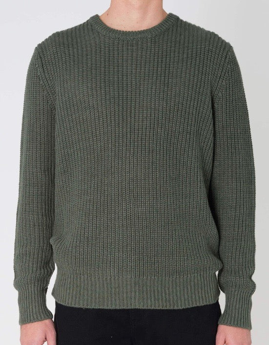 Hemp Blend Knit Green