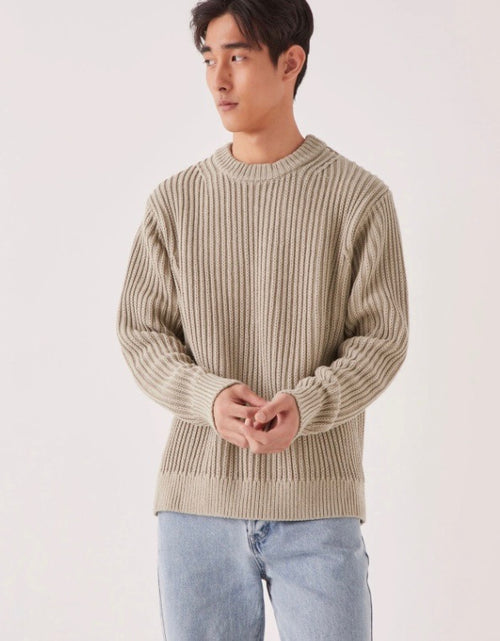 Lyam Knit Washed Khaki