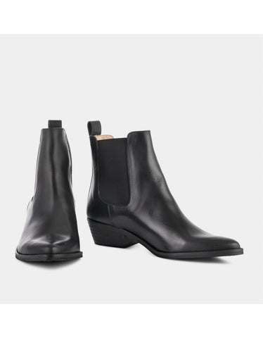 Stella Boot Black Glace