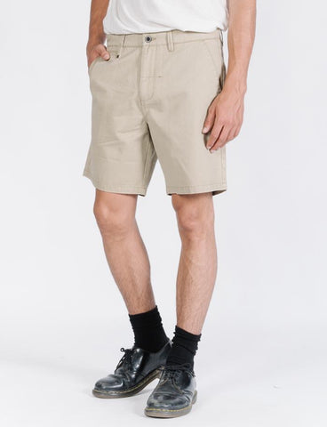 Ripple Shorts Khaki Cord