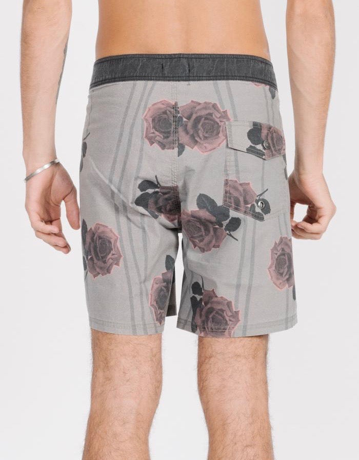 Rose Lens Boardshort Army Green
