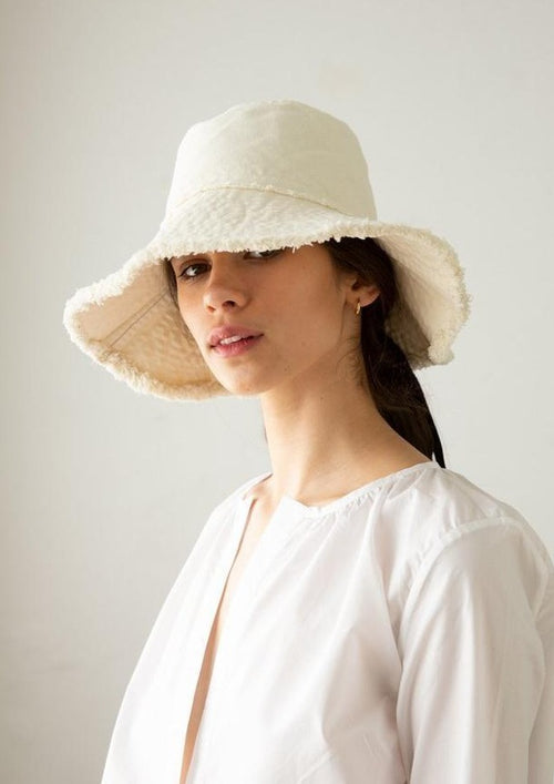 Marle Nonna Hat Ivory