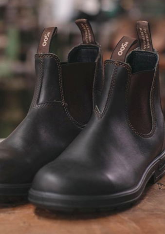 Explore Boot Black Suede