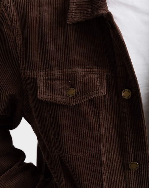 Cord Jacket Brown
