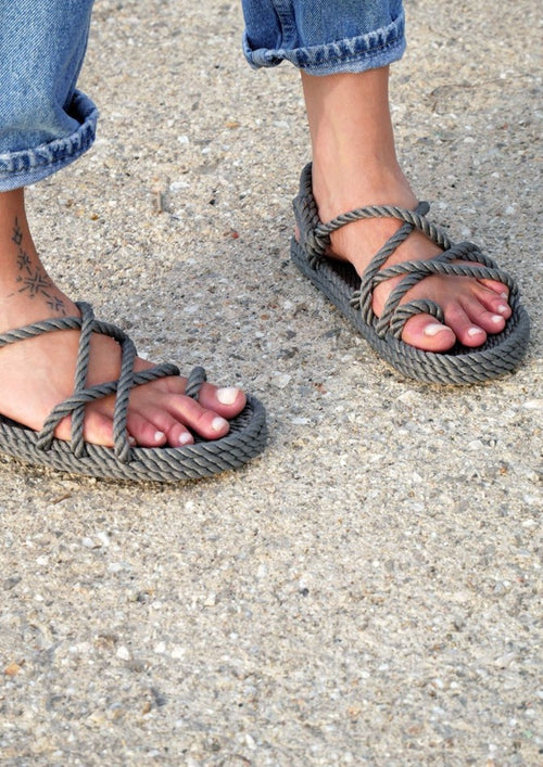 Toe Joe Sandals Grey