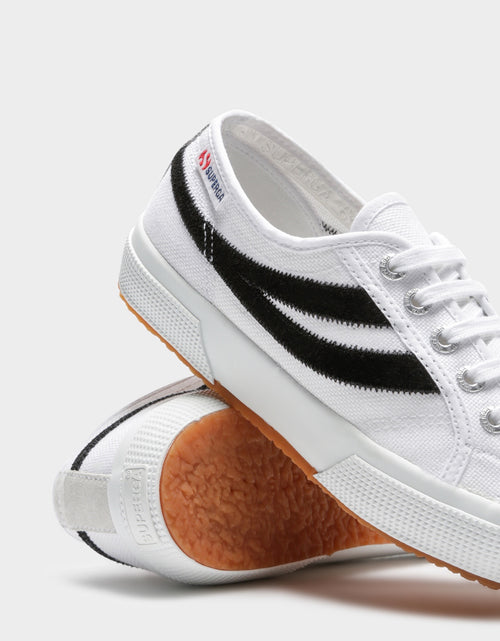 Cotu Suede White Black