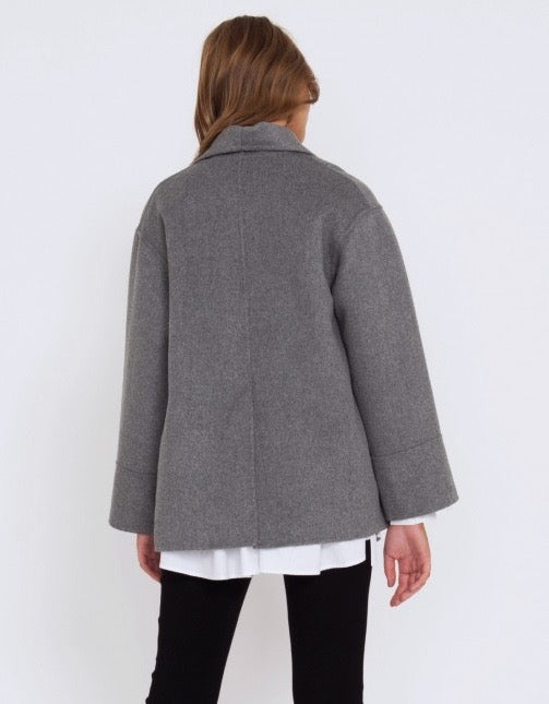 Zander Jacket Grey Marle