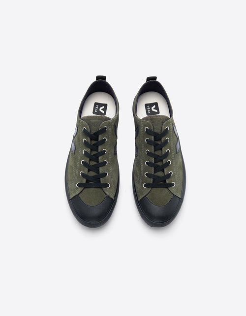 Nova Suede Olive Black Sole