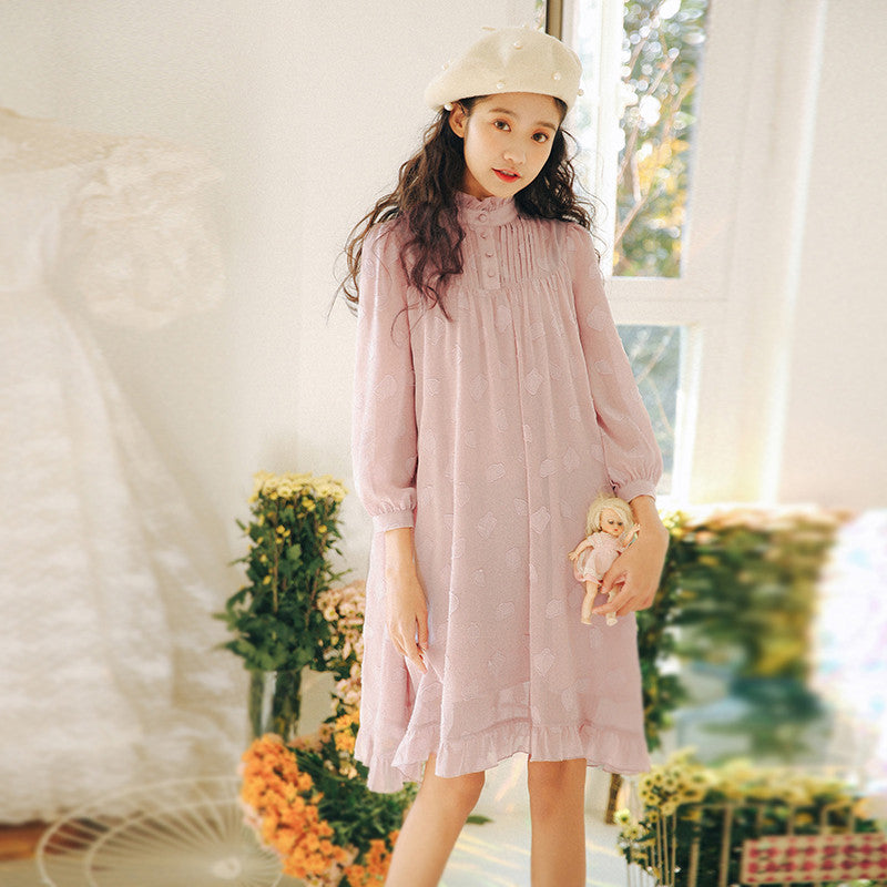 Spring Dolly Chiffon Dress